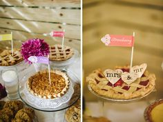 Zen Garden Wedding: Cristina & Darwin in Homestead - inspiration for Florida weddings, social events and lifestyle Wedding Pie Table, Wedding Photography Inspiration, Wedding Inspiration, Diy Photo Booth, Cookie Desserts, Friend Wedding, Dessert Bars, Garden Wedding, Wedding Decorations