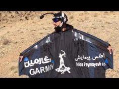 Base Jumping the Alborz Iran.