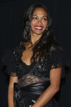 """Actress Zoe Saldana attends the premiere of the Paramount Pictures title """"Star…"""