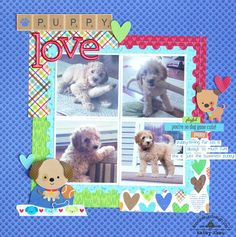 *** Doodlebug Design *** Puppy Love - Scrapbook.com