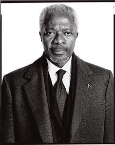 Richard Avedon Portraits | Kofi Annan UN Secretary General