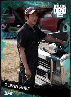 Twd Glenn, Glenn Y Maggie, Glenn Rhee, The Walking Ded, Walking Dead Season, Fear The Walking Dead, Walking Dead Pictures, Season 7, Tv Series