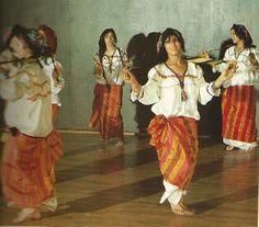 Kabyle dance, Algeria.