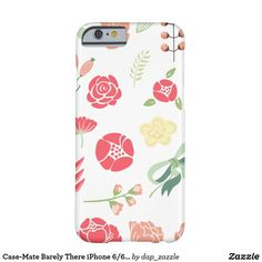 Case-Mate Barely There iPhone Case - flower gifts floral flowers diy All Design, Cover Design, Floral Iphone Case, Floral Style, Floral Flowers, Iphone Case Covers, Flower Designs, Iphone 6, Creative