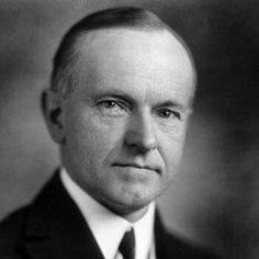 Calvin Coolidge: 30th President of the United States {1923 - 1929} Lawyer, Governor of Massachusetts and Vice President. Became President on 8-2-1923 after President Harding died of a heart attack. Known for signing the Indian Citizenship Act granting all American Indians full citizenship. First Lady: Grace Anna Goodhue   Vice President: Charles Gates Dawes {1925 - 1929}