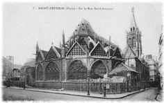 Eglise Saint-Séverin à Paris 5eme arrondissement (Paris)