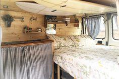 100+ Cozy Camper Van Bed Ideas