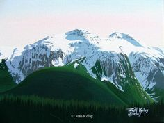 Original Mountain and Landscapes Paintings by Josh Kolay 18