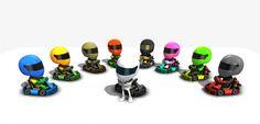 Cartoon Racing Dudes with Go-Kart - Asset Store