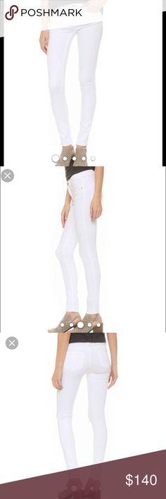 RAG & BONE White Skinny Jeans Excellent condition Rag & Bone White Skinny jeans size 24. rag & bone Jeans Skinny