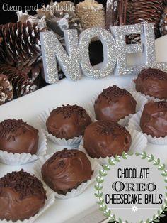 Chocolate Cheesecake Oreo Balls