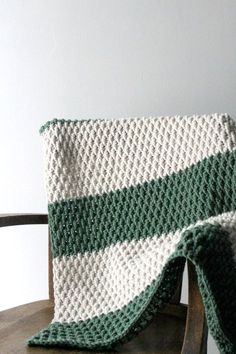 The Alpine Blanket Pattern with Video Tutorial!