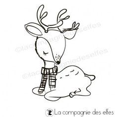 Tampon biche disponible en deux tailles à la compagnie des elfes.