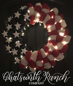 Patriotic Crafts, Patriotic Wreath, July Crafts, Americana Crafts, Patriotic Quilts, Fourth Of July Decor, 4th Of July Decorations, July 4th, 4th Of July Wreaths