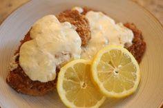Mmm...Cafe: Pan Fried Panko Lemon Chicken