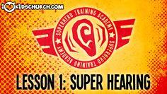 Superhero Training Academy: Super Hearing (Prayer) on iLoveKidsChurch.com