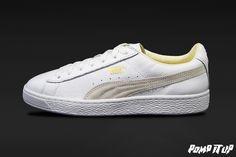 Puma Basket Classic   White-white Sizes: 36 to 46 EUR   Price: CHF 100.-   Unisex    #Puma #PumaBasket #PumaClassic #BasketClassic #Sneakers #SneakersAddict #PompItUp #PompItUpShop #PompItUpCommunity #Switzerland Puma Basket Classic, Puma Classic, Classic White, White White, Puma Platform, Platform Sneakers, Baskets, Chf, Switzerland