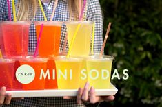 Great idea for drinks for an outdoor party! Styled Eats: Food for an Outdoor Movie Night Kids Birthday Themes, 10th Birthday Parties, Sweet 16 Birthday, Birthday Bash, Movie Theater Party, Movie Night Party, Party Time, Backyard Movie Nights, Outdoor Movie Nights
