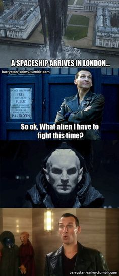 Thor:The Dark World/Doctor Who PRICELESS!! #ChristopherEccleston