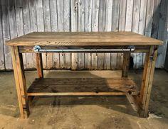 Here's one more angle of the farmhouse kitchen island  #wood #woods #woodwork #woodworking #reclaimed #reclaimedwood #barnwood #customtable #idaho #idahome #weathered #kitchendesign #kitchenisland #designinspiration #diningroomdecor #farmhousedecor #pnw #urbandesign #pacificnorthwest #cda #industrial #kitchendecor #farmhousestyle #rusticdecor #interiorstyling #interiordesign #designinterior #rustic #farmhouse de wegotwoodnorthwest