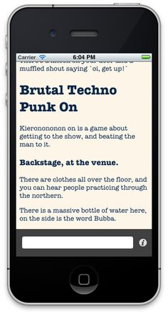 WIBBLE QUEST | iPhone Text Adventure Game Framework