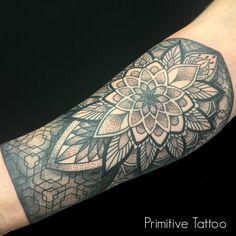 Mandala Tattoo by Petra