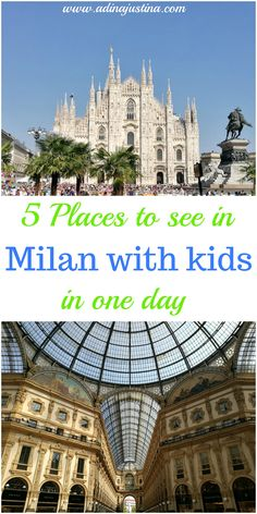 5 places to take your kids while visiting Milan, Italy