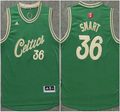 5bd55c123e0 Boston Celtics Jersey 4 Isaiah Thomas Revolution 30 Swingman 2015 Christmas  Day Green Jerseys