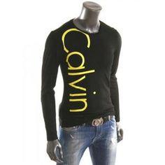 T Shirt Calvin Klein Jeans Manche Longue Homme Pinterest
