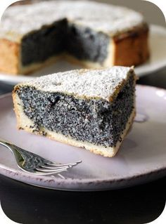 Miss Moonstruck cooks: Little Poppy Seed Cake Baking Recipes, Cake Recipes, Snack Recipes, Food Cakes, Cupcake Cakes, German Desserts, Poppy Seed Cake, Different Cakes, Cake Decorating Icing
