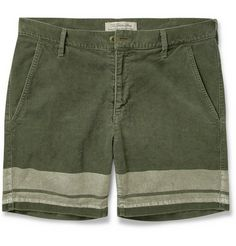 Remi Relief Printed Corduroy Shorts | MR PORTER