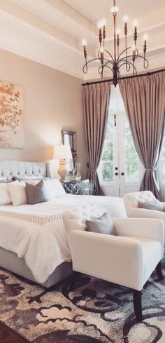 Beautiful bedroom inspiration!