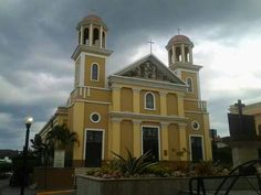 La catedral of Mayaguez.