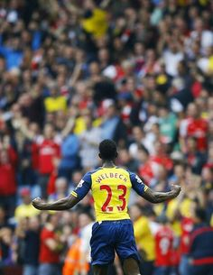 Welbeck scores his first goal for Arsenal against Aston Villa