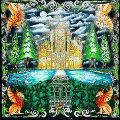 Impressionante! By @dianamoraesdkpm  #desenhoscolorir  #florestaencantada  #enchantedforest  #johannabasford