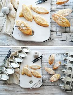 Almond financiers