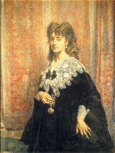 Maria Puslowska,   Jan Matejko