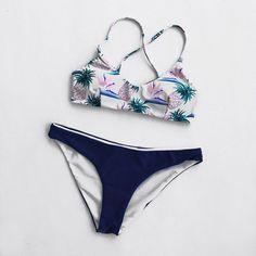 Walking On the Bare Pineapple Bikini Set