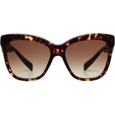 Dolce & Gabbana Oversize Sunglasses ($275) ❤ liked on Polyvore featuring accessories, eyewear, sunglasses, glasses, brown, brown glasses, over sized sunglasses, tortoiseshell sunglasses, tortoise glasses and tortoise shell sunglasses