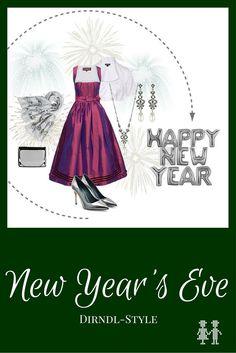 Feiern Sie Silvester doch einmal im Dirndl. Der Dirndl-Style New Years Eve sorgt für den eleganten und stilvollen Auftritt zum Jahreswechsel.