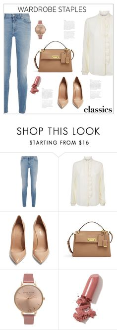 """Tried and True: Wardrobe Staples"" by bliznec ❤ liked on Polyvore featuring Givenchy, RED Valentino, Yves Saint Laurent, Henri Bendel, Olivia Burton, LAQA & Co., polyvoreeditorial, polyvorecontest and WardrobeStaples"