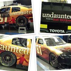 "Josh McDowell and NASCAR team MacDonald Motorsports partner to promote ""Undaunted"" http://on.mktw.net/TcCIBY"