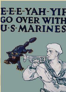 WW 1 Marine enlistment poster