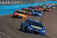 Chase Elliott Photos Photos - Chase Elliott, driver of the #24 NAPA Chevrolet, leads a pack of cars during the Monster Energy NASCAR Cup Series Camping World 500 at Phoenix International Raceway on March 19, 2017 in Avondale, Arizona. - Monster Energy NASCAR Cup Series Camping World 500