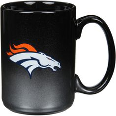 Denver Broncos 15oz. Black/Chrome Two Tone Mug - $14.99