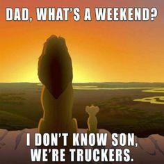 #weekend #trucker #truckdriver #trucking #weekend #funny