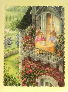 Susan Wheeler Holly Pond Hill Mouse Friends Balcony Tea