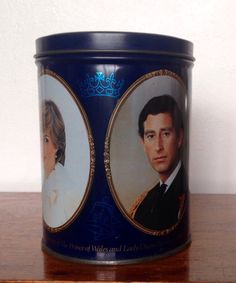 Items Similar To Royal Wedding Tin Prince Charles And Lady Diana 1981 On Etsy