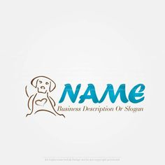 Create a Logo Template – Dog logo