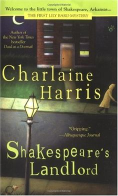CHARLAINE HARRIS Never read the Sookie Stackhouse novels, but her mysteries are fantastic reads!